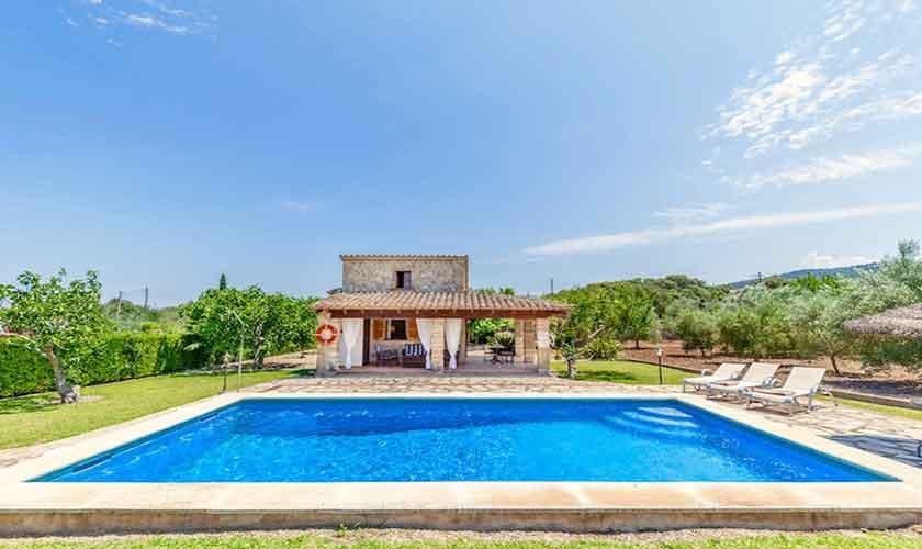 Pool und Finca Mallorca Norden PM 3522