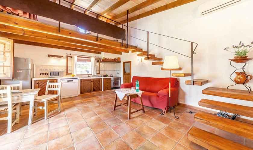 Wohnraum Finca Mallorca Norden PM 3522