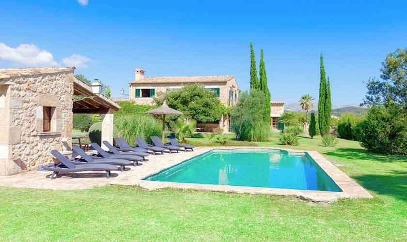 Pool und Ferienvilla Mallorca PM 3523
