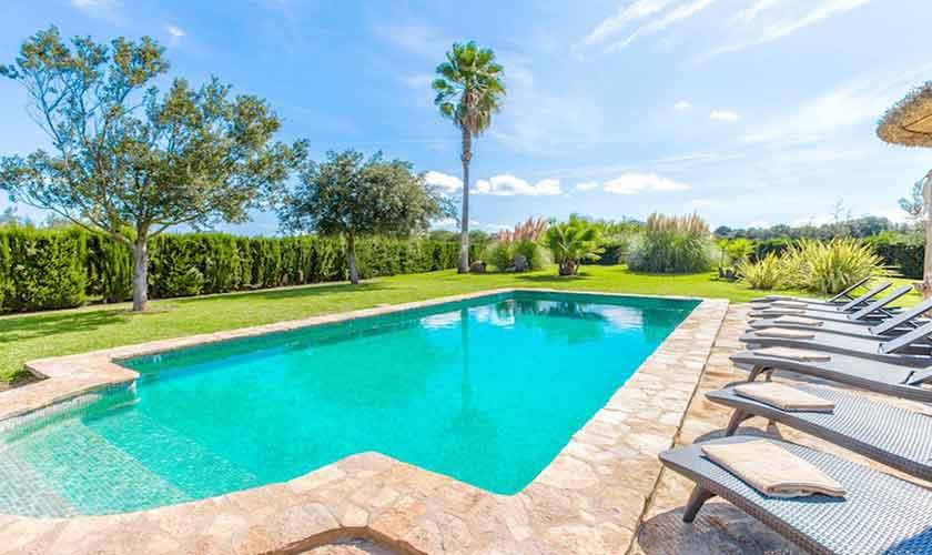 Poolblick Ferienvilla Mallorca PM 3523