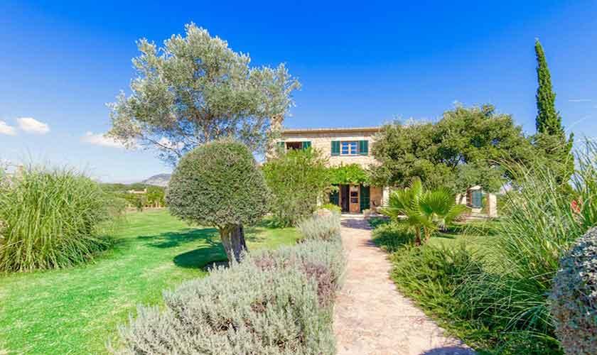 Garten Ferienvilla Mallorca PM 3523