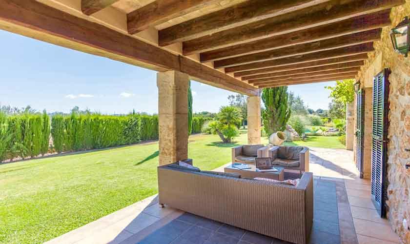 Terrasse Ferienvilla Mallorca PM 3523