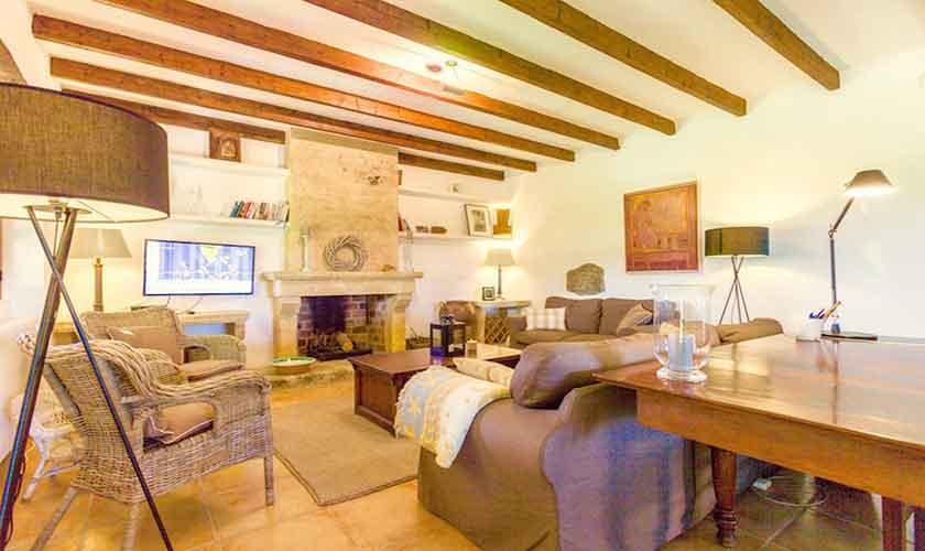 Wohnraum Ferienvilla Mallorca PM 3523