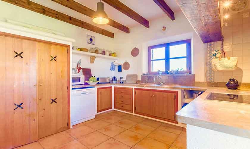 Küche Ferienvilla Mallorca PM 3523