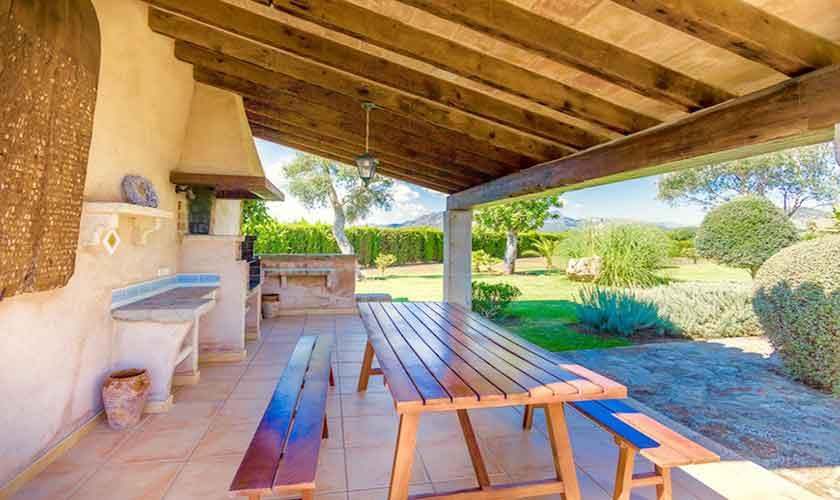 Grillhaus Ferienvilla Mallorca PM 3523