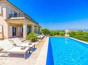 Pool Finca Mallorca Mieten Ferienvilla Ferienhaus Pool Steiner Fincas