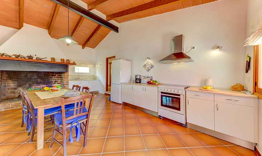 Küche Finca Mallorca bei Santa Margalida PM 3525