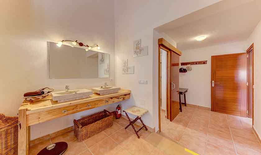 Badezimmer Finca Mallorca bei Santa Margalida PM 3525