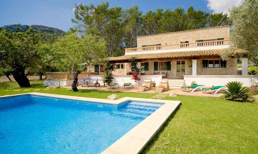 Pool und Finca Mallorca Norden PM 3526