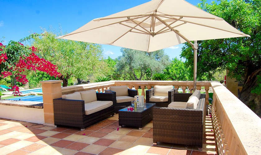 Lounge-Terrasse  Finca Mallorca Norden PM 3526