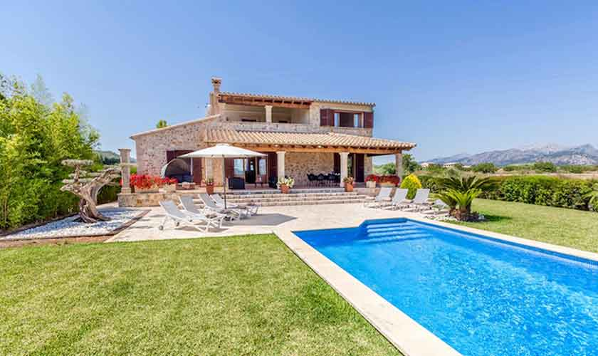 Pool und Finca Mallorca für 8 Personen PM 3527