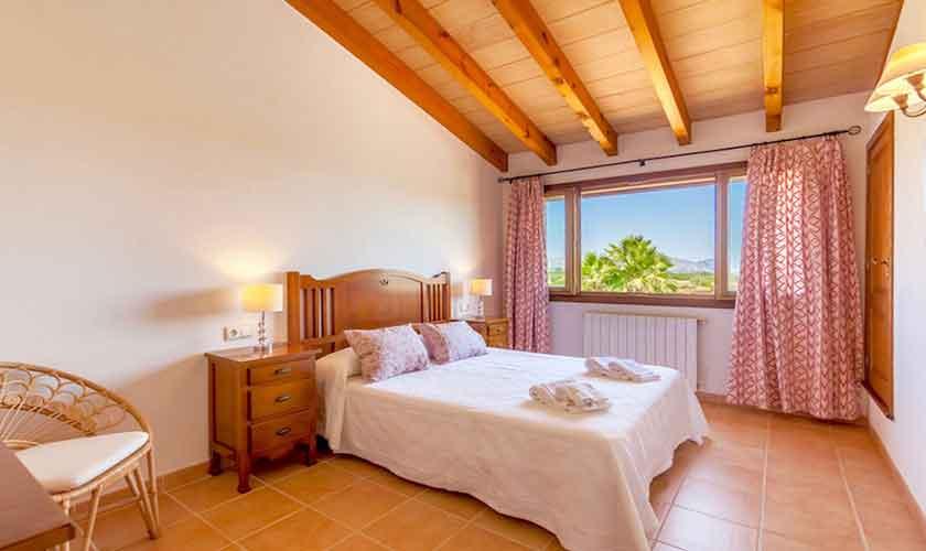 Schlafzimmer Finca Mallorca für 8 Personen PM 3527