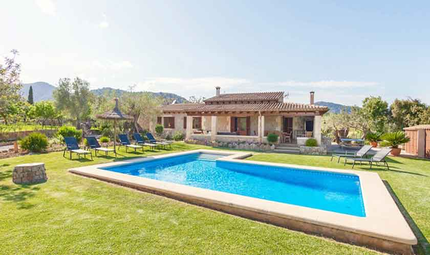 Pool und Finca Mallorca Norden PM 3528
