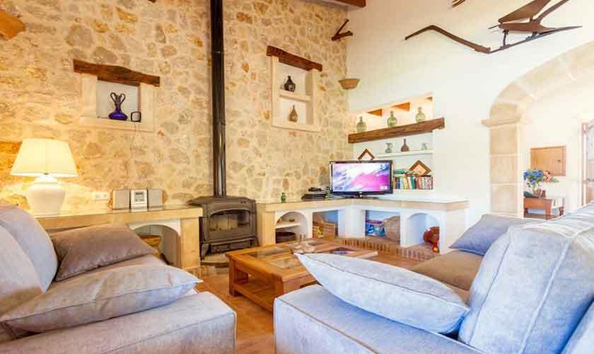Wohnraum Finca Mallorca Norden PM 3528
