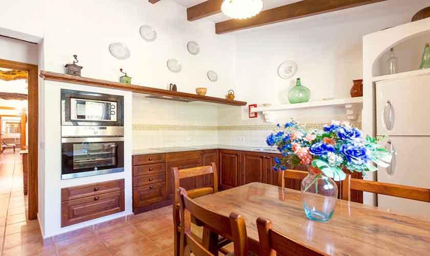 Küche Finca Mallorca Norden PM 3528