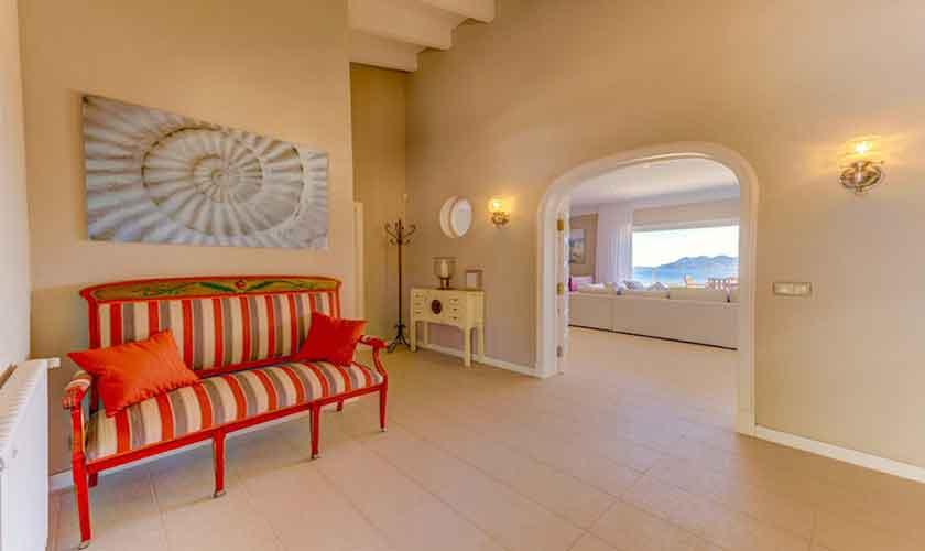 WohnraumPoolvilla Meerblick Mallorca Norden PM 3529