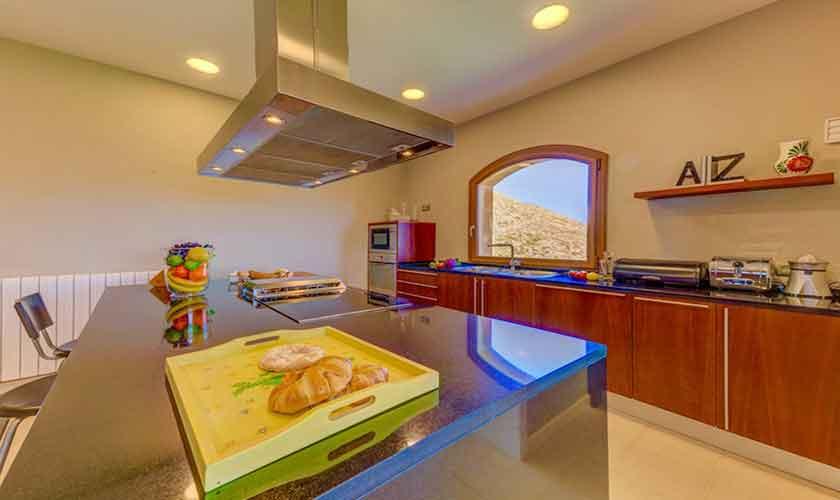 Küche Poolvilla Mallorca Norden PM 3529
