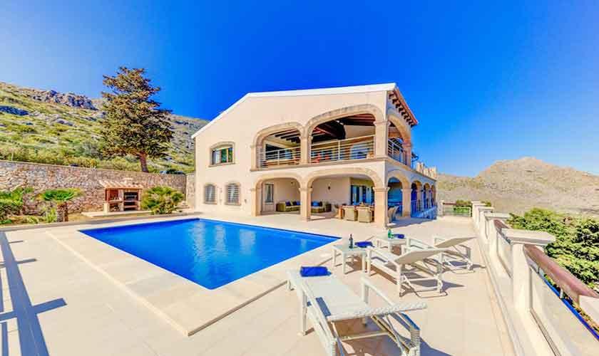 Pool und Villa Mallorca Norden PM 3529
