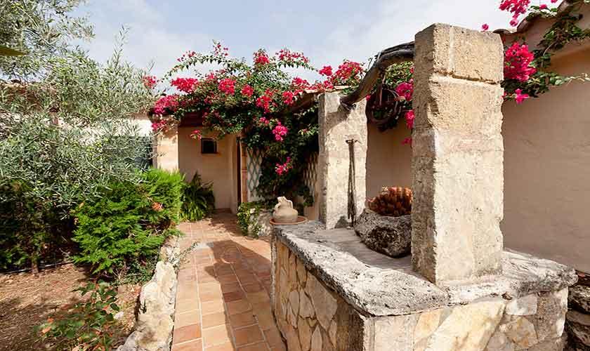Terrasse Finca Mallorca PM 353
