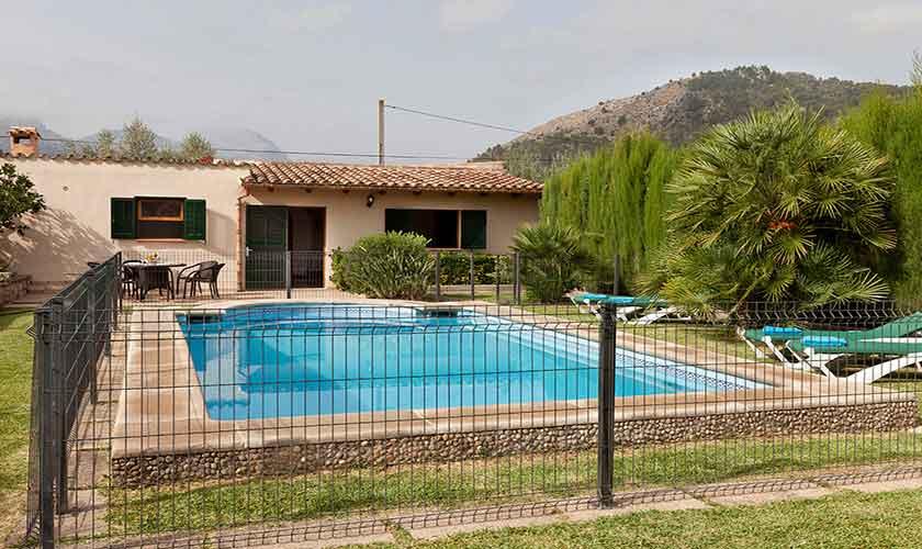 Poolblick Finca Mallorca PM 353