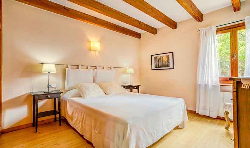 Schlafzimmer Ferienhaus Mallorca bei Alcudia PM 3530