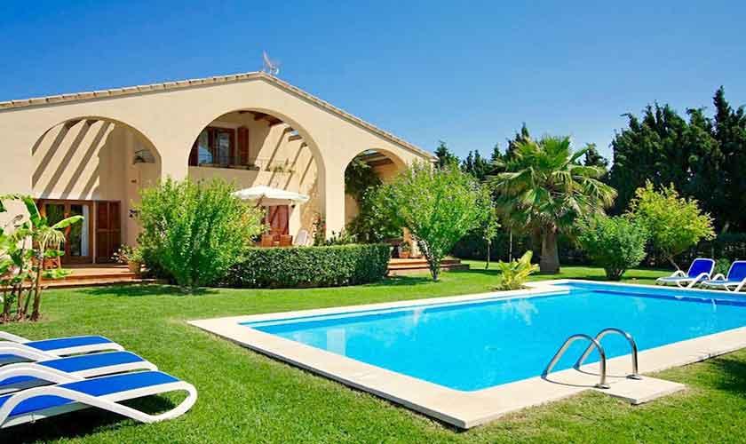 Pool und Ferienhaus Mallorca bei Alcudia PM 3530