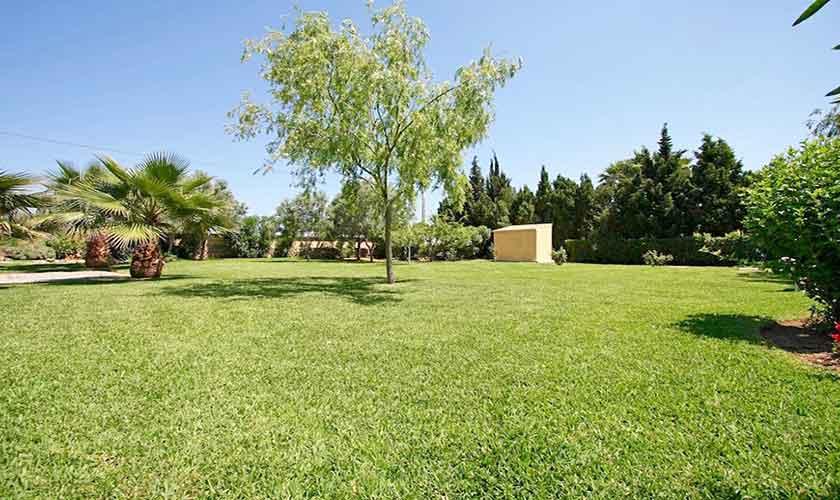 Garten Ferienhaus Mallorca bei Alcudia PM 3530