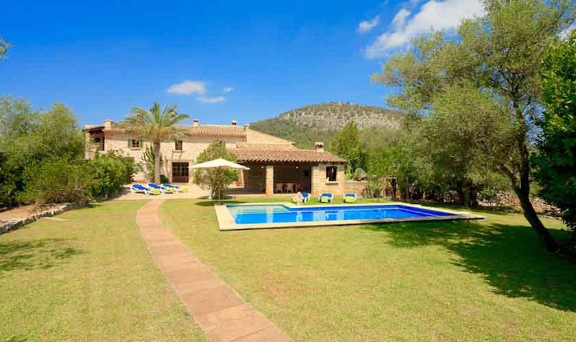 Pool und Garten Finca Mallorca 6 Personen PM 3531