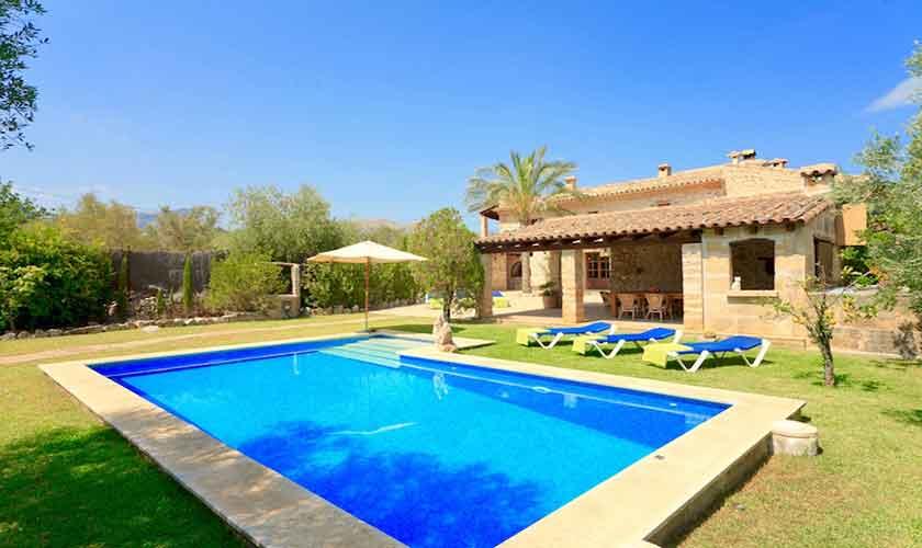 Pool und Finca Mallorca 6 Personen PM 3531