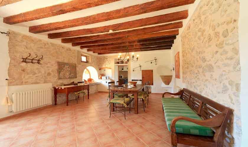 Wohnraum Finca Mallorca 6 Personen PM 3531