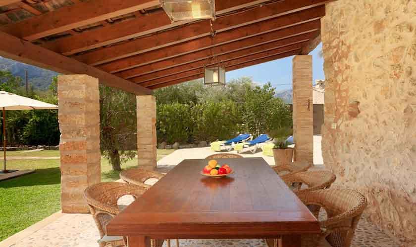 Terrasse  Finca Mallorca 6 Personen PM 3531