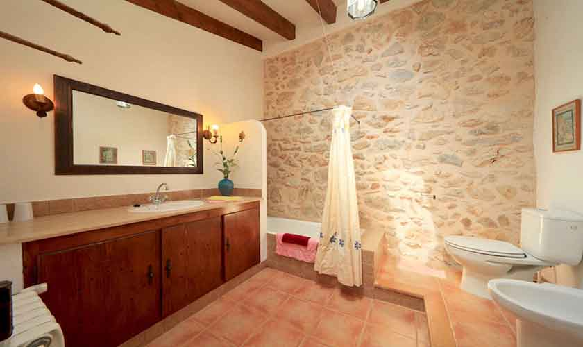 Badezimmer Finca Mallorca 6 Personen PM 3531