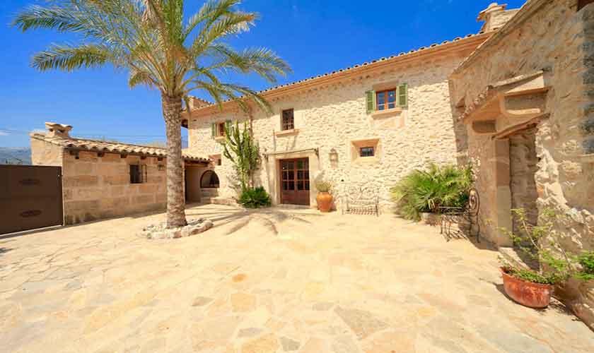 Patio Finca Mallorca 6 Personen PM 3531