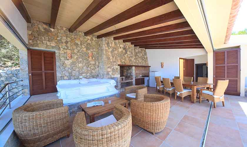 Lounge Terrasse Ferienvilla Mallorca PM 3532