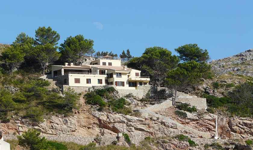Blick auf die  Ferienvilla Mallorca PM 3532