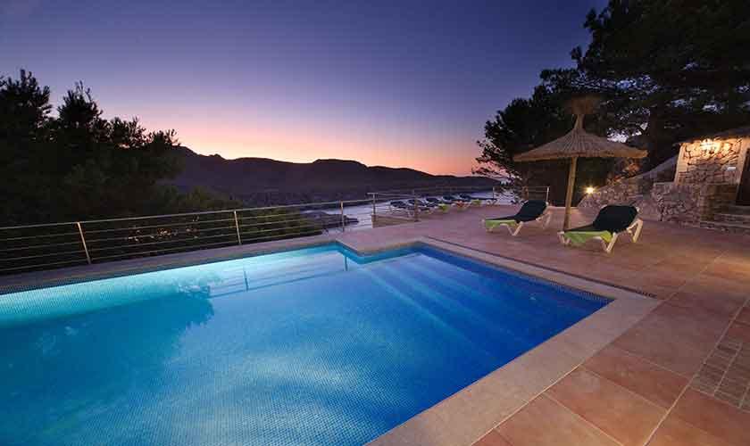 Poolblick Ferienvilla Mallorca PM 3532