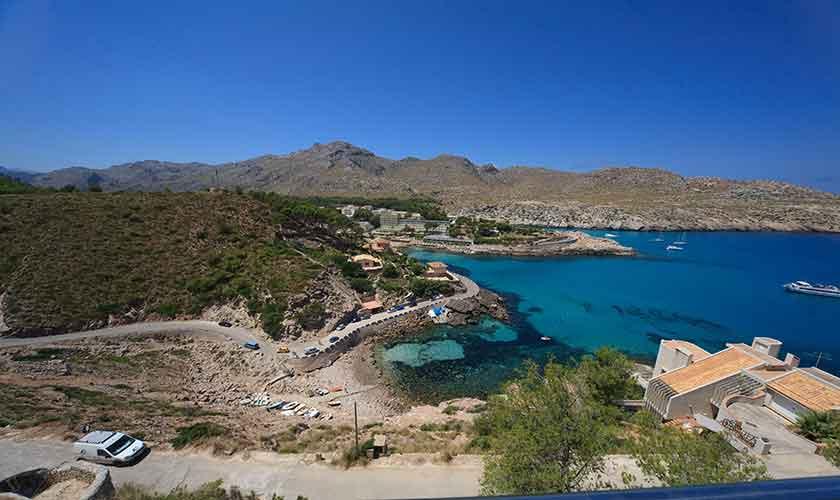 Blick auf die Cala Carbo  Ferienvilla Mallorca PM 3532