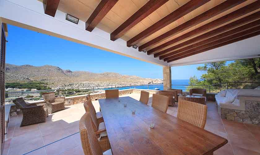 Terrasse Ferienvilla Mallorca PM 3532