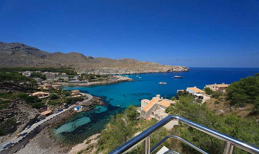 Blick auf Cala San Vicenc Ferienvilla Mallorca PM 3532