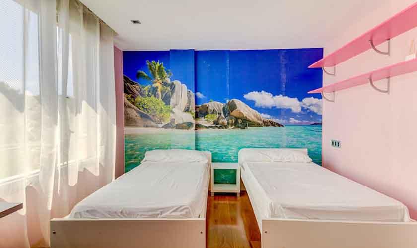 Schlafzimmer Ferienhaus Mallorca bei Alcudia PM 3533