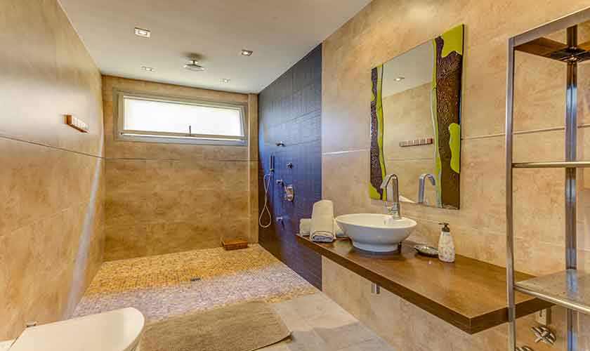 Badezimmer Ferienhaus Mallorca bei Alcudia PM 3533