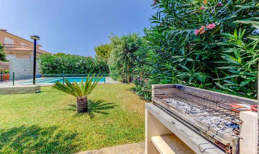 Grill und Garten Ferienhaus Mallorca bei Alcudia PM 3533