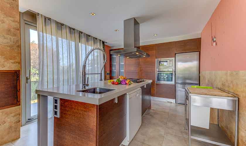 Küche Ferienhaus Mallorca bei Alcudia PM 3533