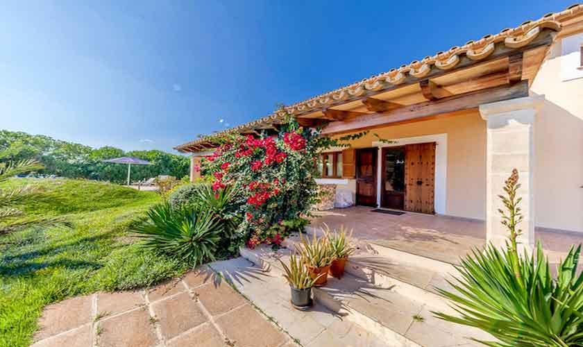 Garten Finca Mallorca für 8 Personen PM 3534