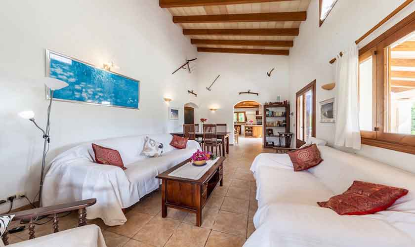 Wohnraum Finca Mallorca für 8 Personen PM 3534