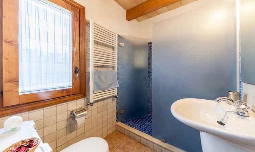 Badezimmer Finca Mallorca für 8 Personen PM 3534