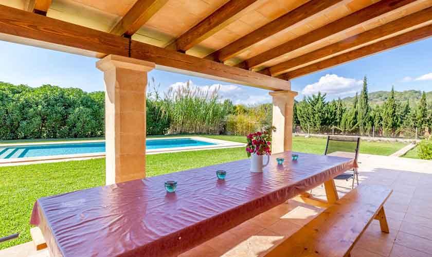 Esstisch Terrasse Finca Mallorca für 8 Personen PM 3534