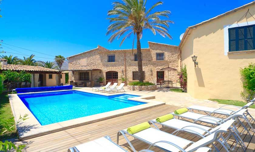 Pool und Finca Mallorca PM 3535