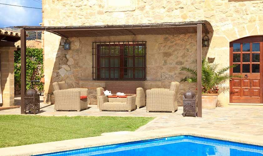 Loungeterrasse Finca Mallorca PM 3535