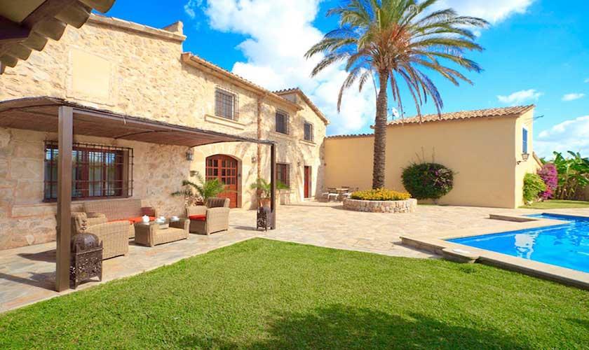 Terrassen Finca Mallorca PM 3535